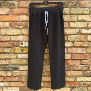 FIGS Technical Collection Black Scrub Pants Size XSP